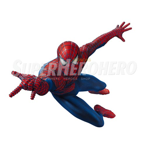 Designs Spiderman Iron on Transfers (Wall & Car Stickers) No.4622